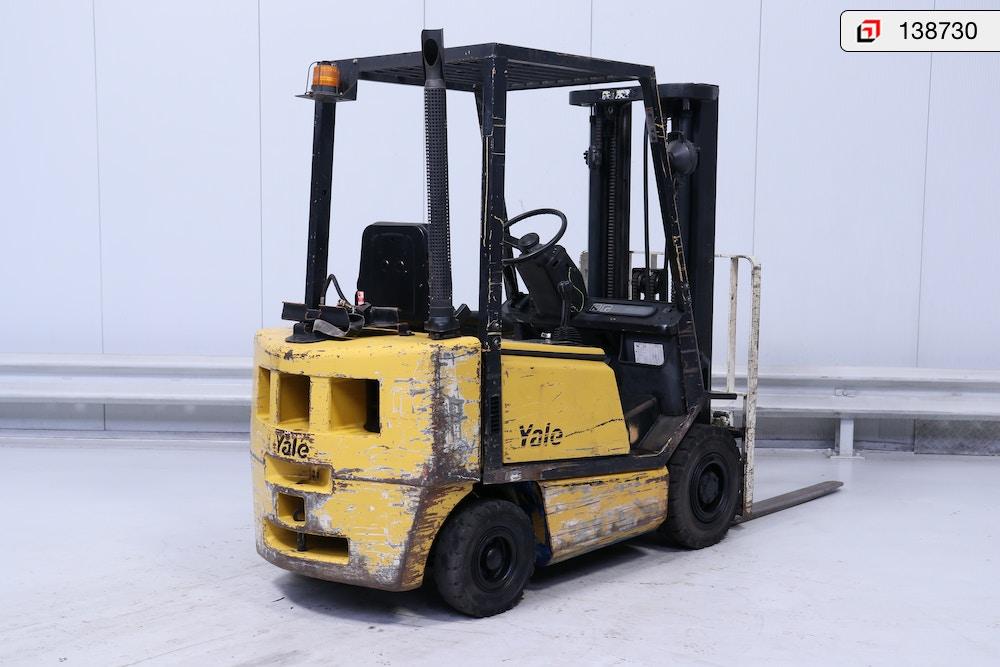 138730 Yale GLP-20-AF - Products - Lisman Forklifts