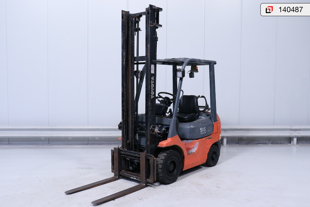 140487 Toyota 42-7-FGF-18 - Products - Lisman Forklifts