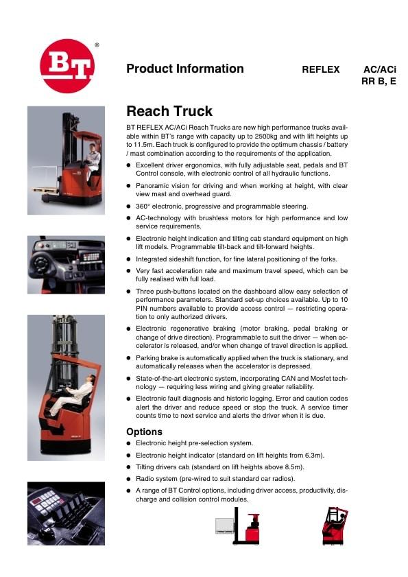 M4157 BT RRB-2 - Products - Lisman Forklifts